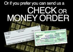 Send Check or Money Order